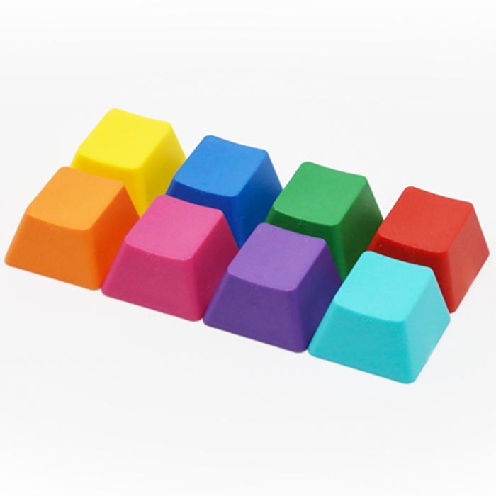 RGBCMYKO 8색 포인트 키캡 (단품)