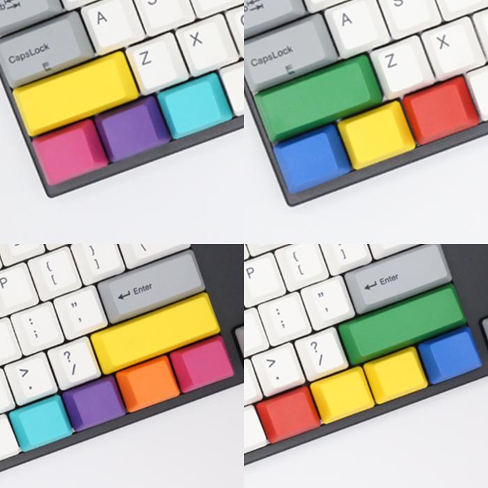CMYKO 기능키 포인트 PBT 키캡 세트 (각인 선택)