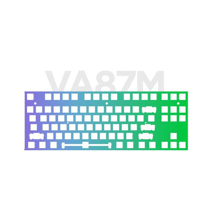 VARMILO VA87M 커스텀 CNC 알루미늄 (노피트 일반 타입 하우징)