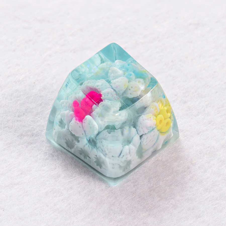 [한정수량 예약판매] Jelly Key World of Coral - MARSHMALLOW CORAL