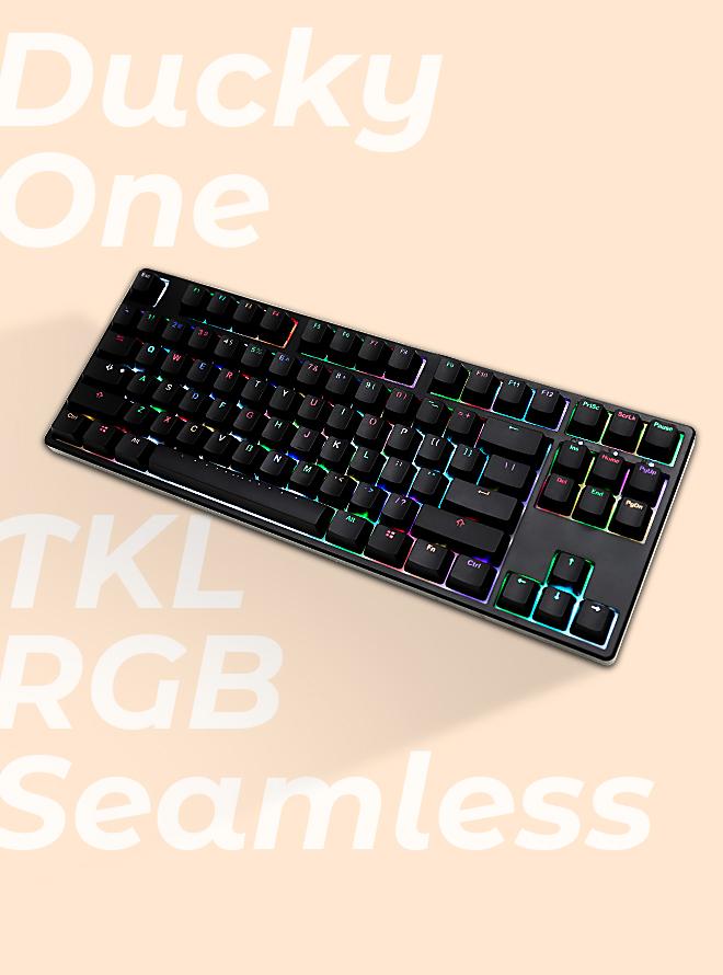 Ducky One TKL RGB PBT 이중사출 한글