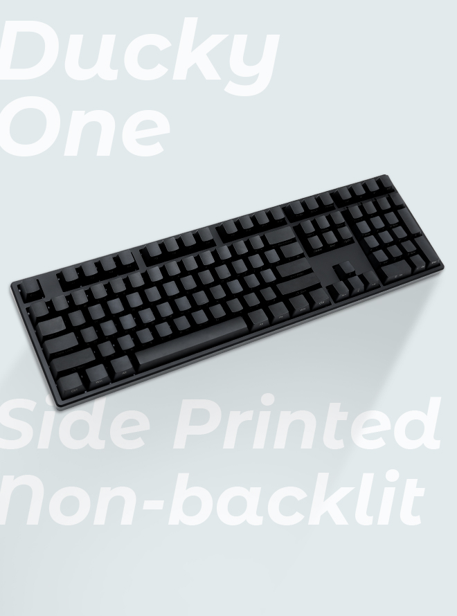 DUCKY One 측각 Non-Backlit PBT 한글