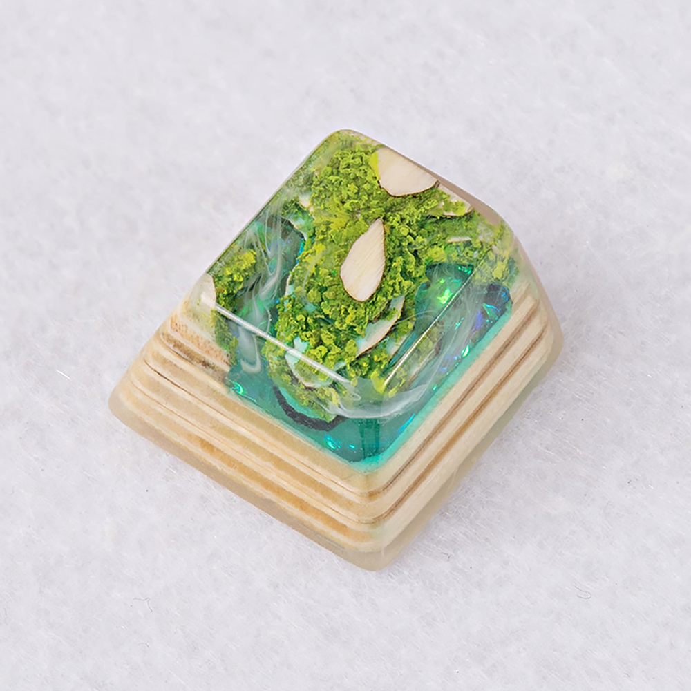[한정수량 예약판매] Artifact series - Forbidden Realm artisan keycap Emerald Cliff