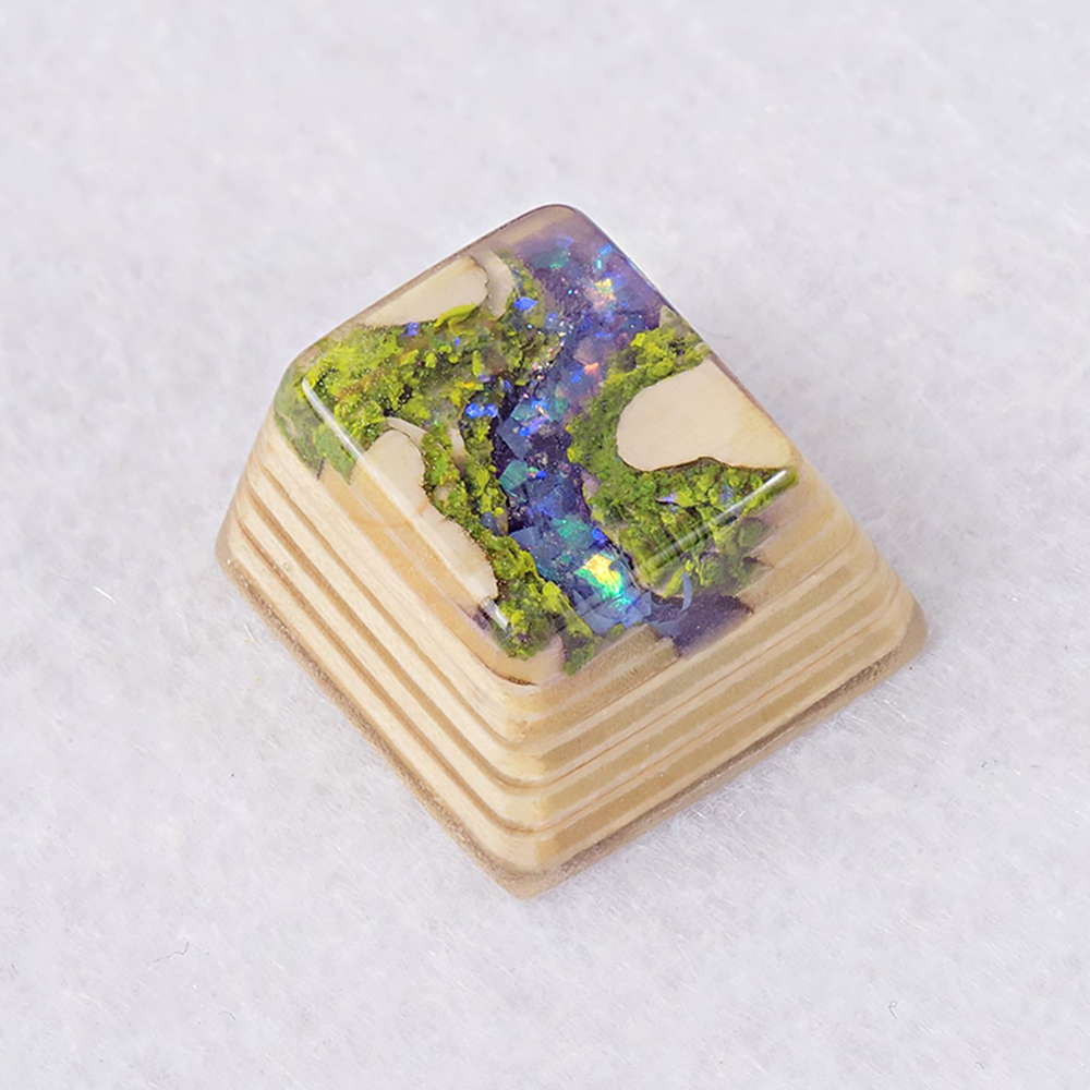 [한정수량 예약판매] Artifact series - Forbidden Realm artisan keycap Purple Valley