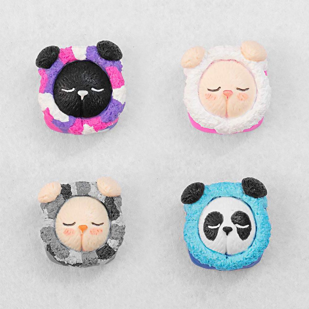 [한정수량 예약판매] Jelly Bunny artisan keycaps