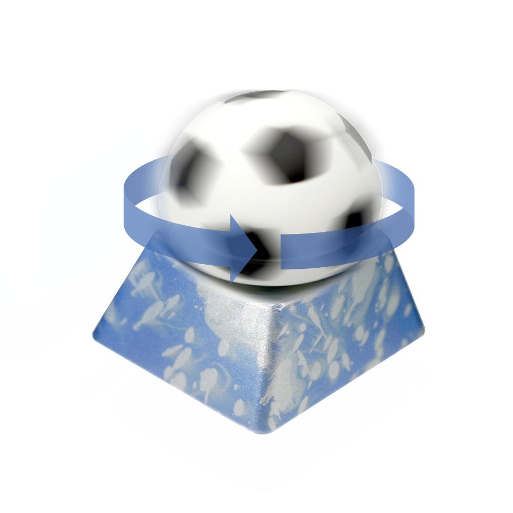 VARMILO X ZOMO FIDGET 축구공 BLUE (ESC키 열)