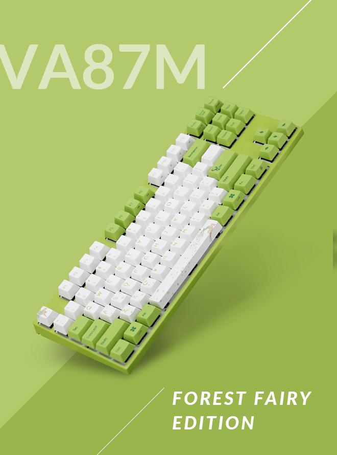 VARMILO VA87M FOREST FAIRY PBT 염료승화 영문 갈축