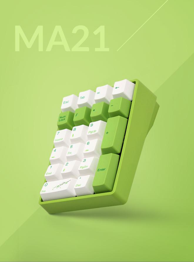 VARMILO MA21 FOREST FAIRY PBT 염료승화 무접점 기계식 로즈축