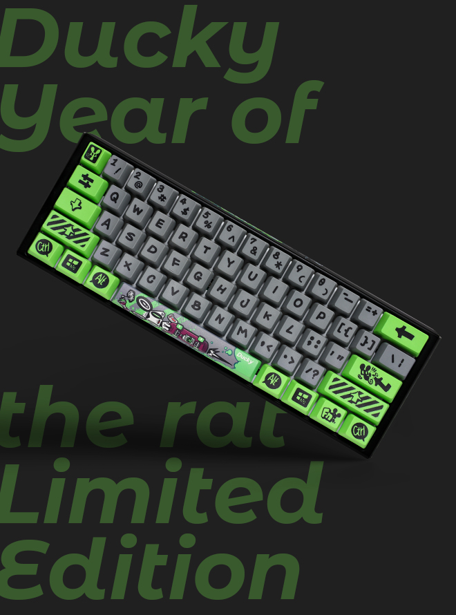 2020 Ducky Year Of The Rat Limited Edition