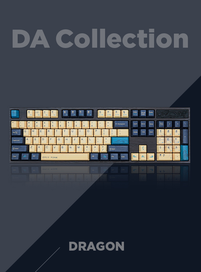 VARMILO DA Collection Dragon PBT 염료승화 영문