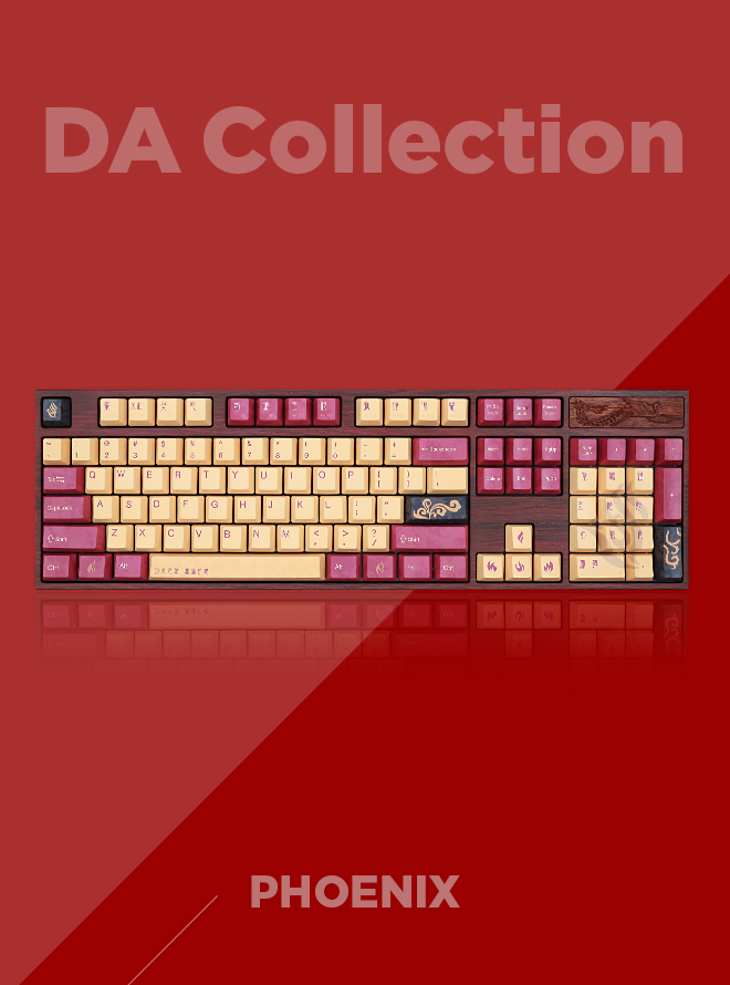VARMILO DA Collection Phoenix PBT 염료승화 영문