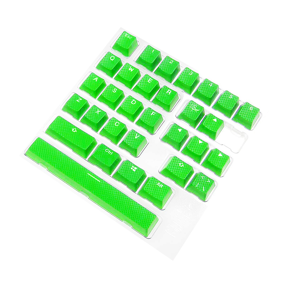 DUCKY Rubber 게이밍 키캡 세트 GREEN